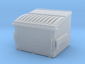 1/64 Dumpster 3 in Smooth Fine Detail Plastic
