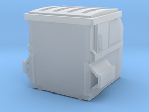1/64 Dumpster 4 in Smooth Fine Detail Plastic