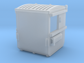 1/64 Dumpster 6 in Smooth Fine Detail Plastic
