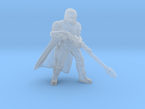 Mandalorian with Sniper Rifle (Star Wars Legion) in Smooth Fine Detail Plastic