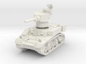 M3 Stuart mid UK 1/76 in White Natural Versatile Plastic