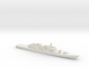 Maestrale-Class Frigate, 1/1250 in White Natural Versatile Plastic