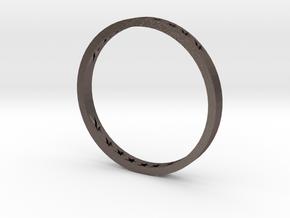109102133.黃祐祥 in Polished Bronzed-Silver Steel: Medium