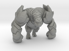Magma Gorilla 56mm miniature model fantasy dnd rpg in Gray PA12