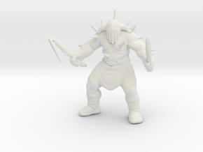 Hades god of war 100mm DnD miniature games rpg in White Natural Versatile Plastic