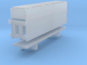 Holzkasten Grove Deckel Riffelblech toolbox 1:50 in Smooth Fine Detail Plastic