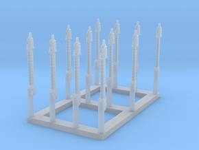 Universal Modular Mast, 1/350 scale in Smooth Fine Detail Plastic