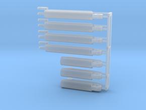 IHC / Dresser 540 cylinder set - Payloader in Smooth Fine Detail Plastic
