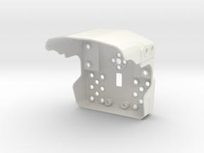 Darwin Mini Body in White Natural Versatile Plastic