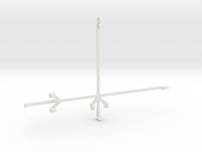 Samsung Galaxy Tab S6 tripod & stabilizer mount in White Natural Versatile Plastic