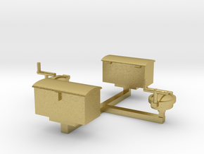 Tank Fillers & Tool Boxes Type 1 in Natural Brass