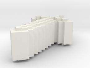 Minecraft sword Jewelry in White Natural Versatile Plastic: Small