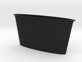 Colorful water cup in Black Natural Versatile Plastic
