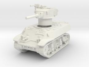M3A3 Stuart 1/87 in White Natural Versatile Plastic