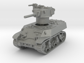 M3A3 Stuart 1/87 in Gray PA12