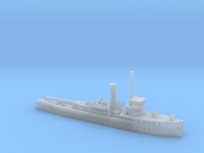 1/1200th scale ORP General Haller gunboat in Smooth Fine Detail Plastic