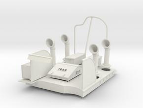1/16 USN Pt Boat 109 Engine Room Hatch KIT in White Natural Versatile Plastic