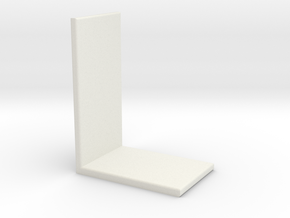 bookshelf in White Natural Versatile Plastic: Small