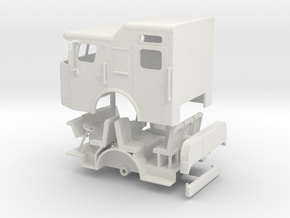 1/64 E-One Raised Roof w/ rollup doors in White Natural Versatile Plastic