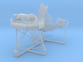 LW-08 Air search radar 1/96 in Smooth Fine Detail Plastic