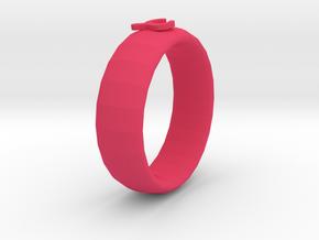 Scorpion Ring in Pink Processed Versatile Plastic