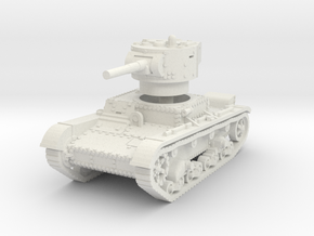 T-26B mid 1/72 in White Natural Versatile Plastic