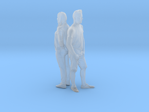 Printle C Couple 364 - 1/87 - wob in Smooth Fine Detail Plastic