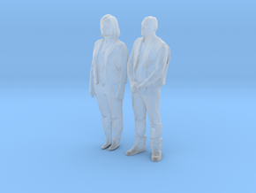Printle C Couple 366 - 1/87 - wob in Smooth Fine Detail Plastic