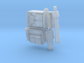 Patrol Stormtrooper Backpack 3.75 scale in Smooth Fine Detail Plastic