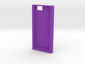 人臉造型手機殼 in Purple Processed Versatile Plastic: Small