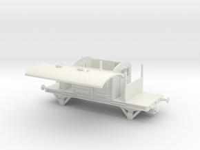 SR Brakevan NEM in White Natural Versatile Plastic