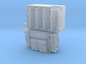 Mortar Stormtrooper Backpack in Smooth Fine Detail Plastic
