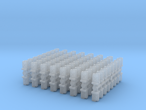 Jerrycan set (x128) 1/285 in Smooth Fine Detail Plastic