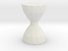 toy in White Natural Versatile Plastic: Small