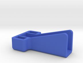 Mekanda Robo Jumbo forearm lever cover in Blue Processed Versatile Plastic