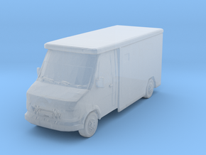 Mercedes Armored Truck 1/285 in Smooth Fine Detail Plastic