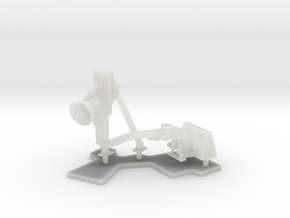 1:96 scale Refuel Port/Left and Mounted stand in Smooth Fine Detail Plastic