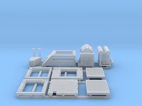 1:50 20Ton Powerpack doors and detail parts in Smooth Fine Detail Plastic