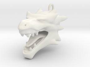 Dragon head 2101040231 in White Natural Versatile Plastic
