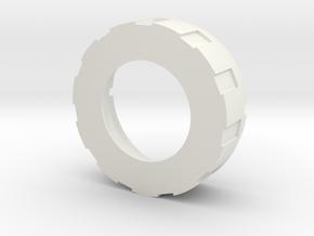 Korbanth K4v2 pogo pin hilt side in White Natural Versatile Plastic