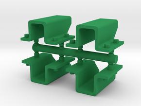 Füße (Wasserfass, Gulaschkanone, ...) in Green Processed Versatile Plastic