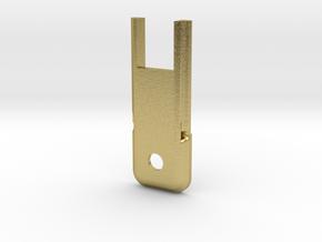 Custom Request - switch cap in Natural Brass
