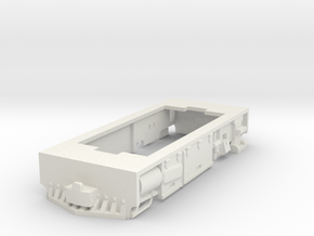 Steam loco with motion covers base for Kato 11-109 in White Natural Versatile Plastic