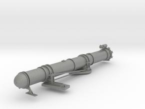 1/32 US PT Boat 109 Torpedo Tube Port Starboard in Gray PA12