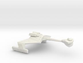3788 Scale Klingon D7WK Heavy Command Cruiser  in White Natural Versatile Plastic