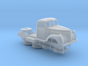 OO - 1:76 Dodge Semi Tractor 1940 in Smooth Fine Detail Plastic