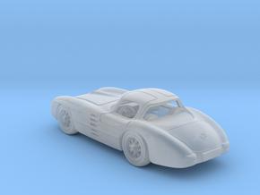 Mercedes 300 SLR 1:120 TT in Smooth Fine Detail Plastic
