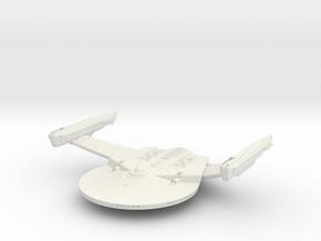 Atlantis Class Cruiser   4.41 x 1.22 x 3.51 inches in White Natural Versatile Plastic