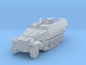 Sdkfz 251/3 D Radio 1/144 in Smooth Fine Detail Plastic