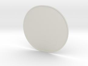Cone-top in White Natural Versatile Plastic